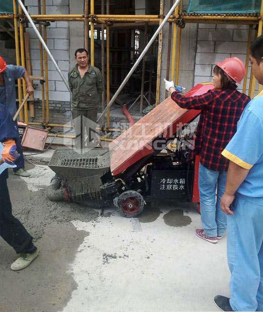 买二次结构浇筑泵选翔工机械