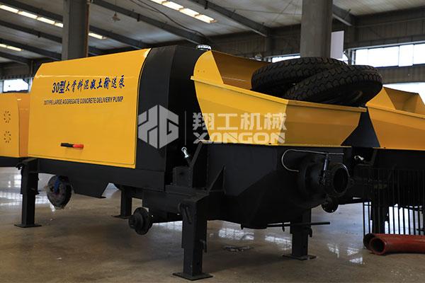 30大骨料混凝土输送泵